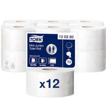 Toapapper 2-lag Returfiber T2